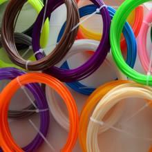 3D Filament 100 Mt ABS/PLA 1,75mm 3D Filament (20 farben zu wählen) für 3D Druck Stift 3D Drucker