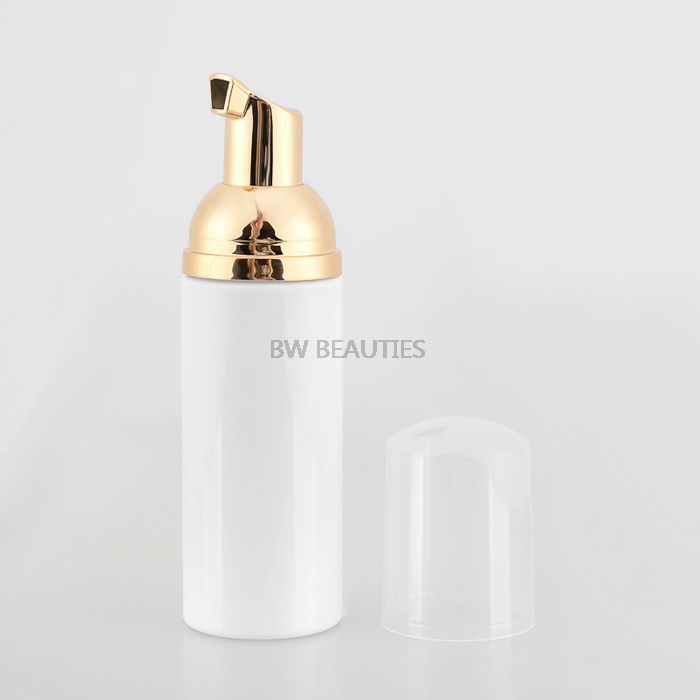 100Pcs lot 50ml Empty Plastic Foamer Bottle Pump White Liquid Soap Dispenser Best Cheapest Foam Bottle