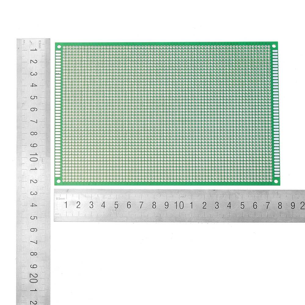 Image 4 - 10 ピース/セット 12 × 18 センチメートル FR 4 2.54 ミリメートル片面 DIY はんだプロトタイプ Pcb プリント回路基板片面 PCB   -