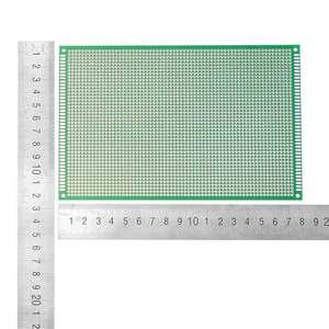 Image 4 - Placa de circuito impresso, 10 pçs/set 12x18cm FR 4 mm único lado diy soldagem protótipo pcb placa de circuito impresso