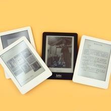Электронная книга, электронная книга Kobo Glo N613, сенсорный экран, e-ink, 6 дюймов, 1024x768, 2 Гб, Wi-Fi, для чтения книг, фронтальная подсветка