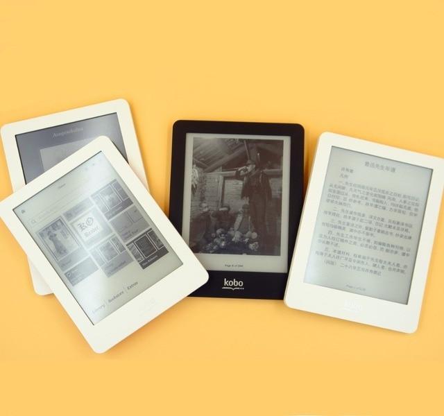 EBook eReader Kobo Glo N613 e-book pantalla táctil de e-ink 6 pulgadas 1024x768 2 GB WIFI libro lector