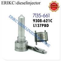 ERIKC 7135-661 Fuel Pump Repair Kit L137PBD Fog Nozzle 9308-621C Check Valve for Hyundai Kia EJBR02901D EJBR03701D EJBR02401Z