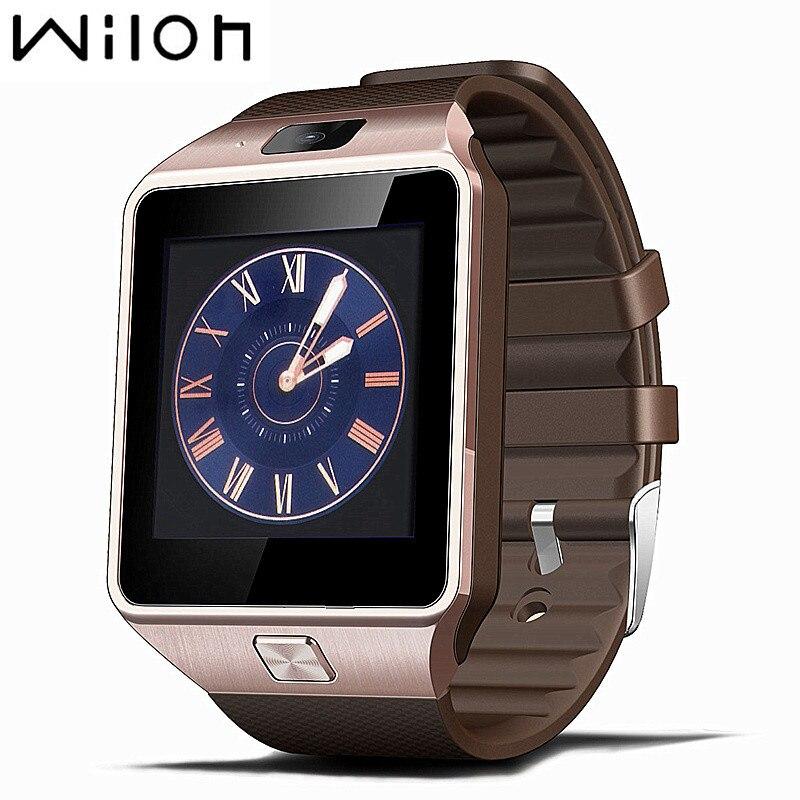 BANGWEI Smart Watch Horloge Avec Fente Pour Carte Sim Push Message Bluetooth Connectivité Android Téléphone Mieux Que DZ09 Smartwatch