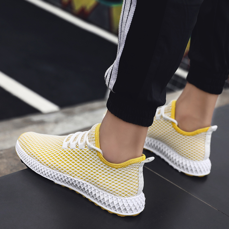 PUIMENTIUA Flats-Shoes Sneakers Masculino Female Summer Light Tenis Breathable Running
