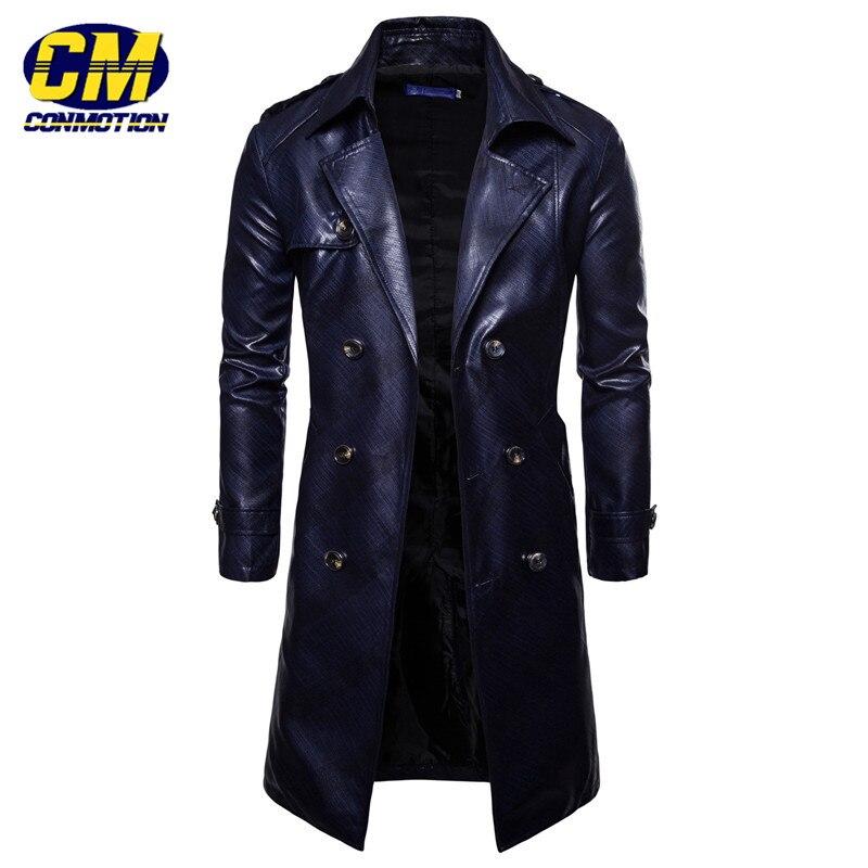 GLO STORY Brand 2019 New Detachable Hooded Soft Faux Leather Jacket Men Motor Biker PU Jackets