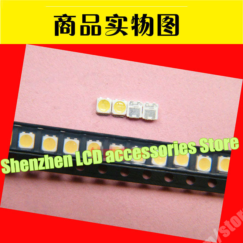 200pcs 3228 LED  Lamp Beads 3V For Samsung _ 2014svs58 _ Mega _ 3228_r_7led_rev1.2_140508 Lm41-00091  TV Backlight Strip Repair