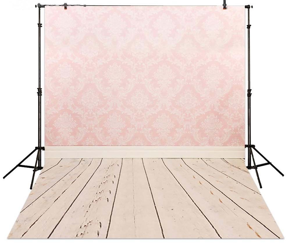 Pink Damask Wall Paper backdrop Vinyl cloth High quality Computer printed children kids Photography Backgrounds paper sun white cloud colour colorful photography backgrounds vinyl cloth computer printed birthday photo backdrop