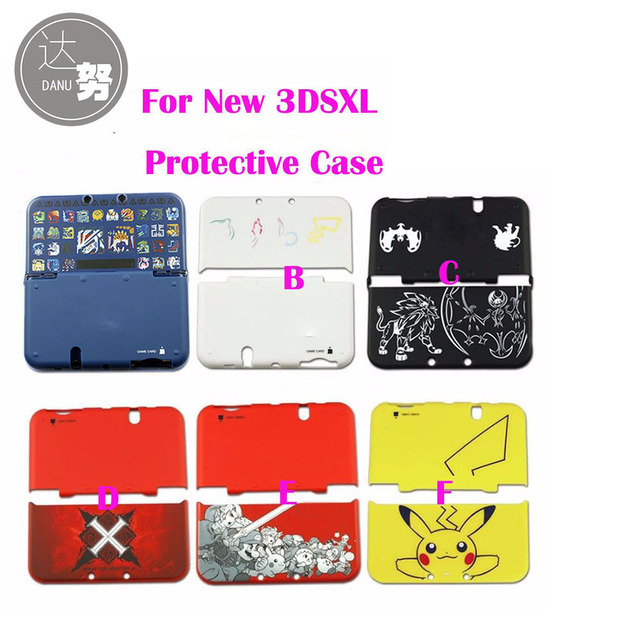 For Pikachu Limited Edition Hard Protective Shell Case Cover For Nintendo New 3DS XL LL Protector