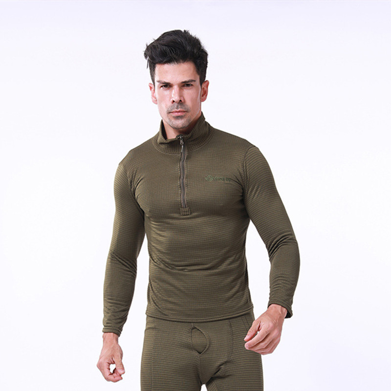 2019 Thermal Underwear Sets For Men Winter Long Sleeve Thermo Underwear Long Winter Clothes Men Motion Thick Thermal Clothing