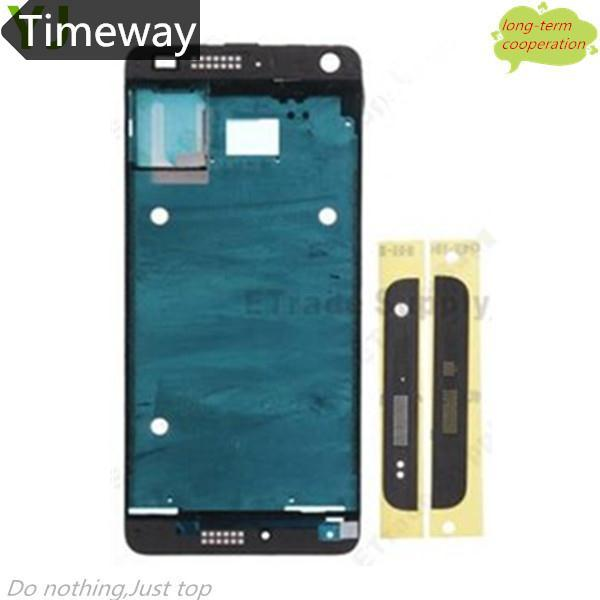 Timeway   Black Front Housing Frame Bezel Plate for HTC One Mini M4 (OEM)