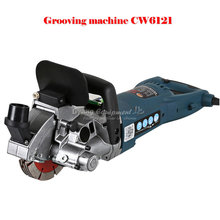 CAOWANG CW6121 Multifunction Wall Groove Cutting Machine Wall Groove Machine Wall Chaser Machine For Brick & Granite Marble & Co