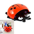 Novelty Ladybug Toothbrush Holder Toiletries Rack Bathroom Set Suction Hooks