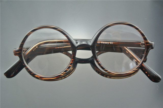01d92803db Oversize Vintage 54mm Round Reading Glasses UNISEX Full Rim +50 +75 +100  +125 +150 +175 +2 +250 +3 +350 +375 +4 +425 +450 +475