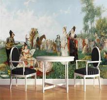 Пользовательские обои Европейский характер картина маслом аристократический