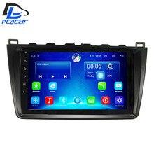 3G/4G net + WI-FI de navegação dvd android 6.0 sistema estéreo para mazda 6 2008-2015 anos gps multimedia player rádio do carro no painel de instrumentos