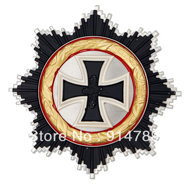 WWII GERMAN OFFICER ADMIRAL KNIGHT IRON CROSS MEDAL ORDER BADGE-33625