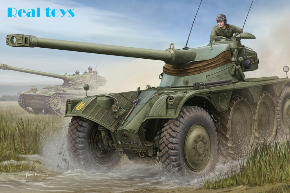 Hobby Boss Model 82489 1/35 French EBR-10 Wheeled Reconnaissance Vehicle Plastic Model Kit