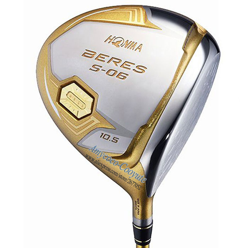 Cooyute New HONMA Golf Clubs HONMA S-06 4Star Golf Driver 9 5or10 5loft Club Graphite Golf Shaft Driver Headcover Free Shipping