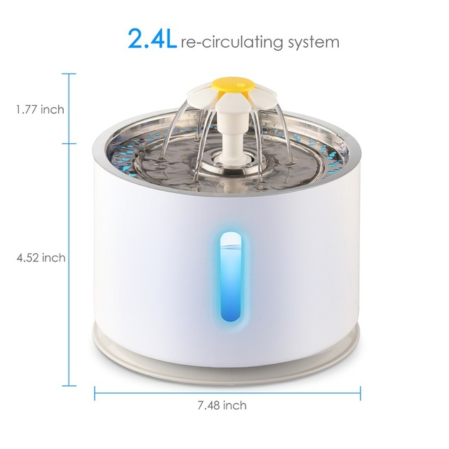 2.4L Automatic Cat Water Fountain  2