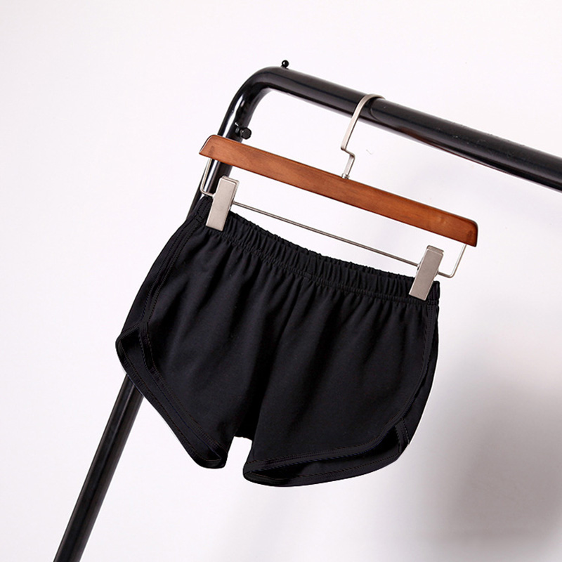 2019 Street Summer Fashion Women Elastic Waist Elastic   Short   Women's   Shorts   Girls Casual Loose Solid Soft Casual   Short