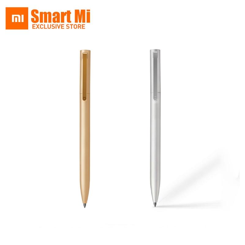 Originale XiaomiPen Mijia SignPen 9.5mm Durevole SigningPen PREMEC Svizzera Ricarica MiKuni Giappone Inchiostro Colori Oro E Argento