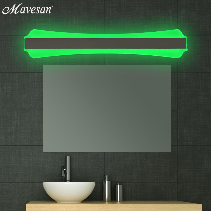 Bathroom Led Mirror Light Indoor Waterproof RGB Led 53x10 cm For ...