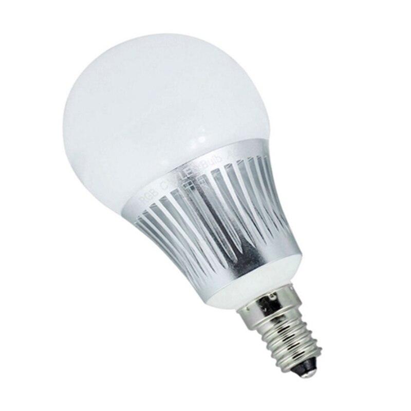 Mi. Light E14 5 W RGBCCT ampoule LED connectée 4 pièces + 1 pc WIFI + 1 pc 4 Zone RF télécommande sans fil pour ampoule LED intelligente Milight - 3