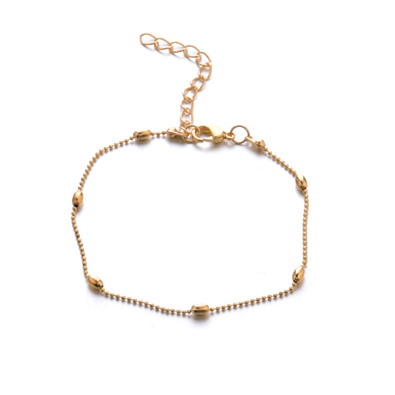 Chain Gifts Adjustable Exquisite Bohemia Beads Bracelet Golden Sequin 3PCS/Set Valentines Gift 19 New Arrival Silver 8