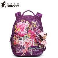High Quality Children School Bags For Girls Waterproof Orthopedic Backpack Cartoon Flower Book Bag Knapsack Mochila Escolar