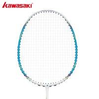 Kawasaki Brand Stringing Badminton Rackets Professional Red Flag F200 Raquette De Carbon Fiber Badminton Racquets High Quality
