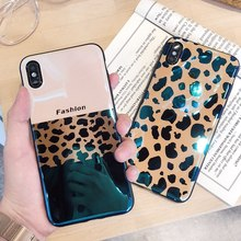Luxury Leopard Print Case For Xiaomi Red