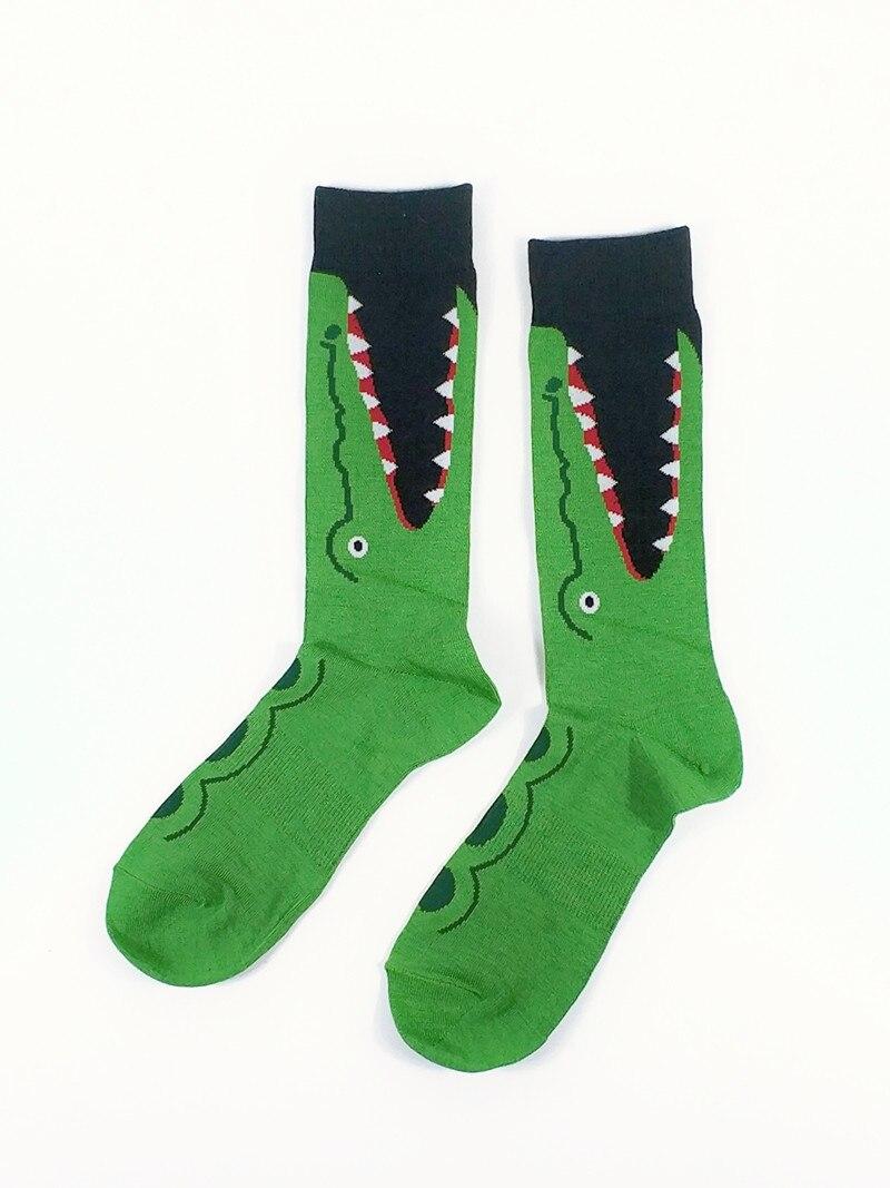 Mens  Crocodile Socks USA Size 9-13,Euro Size 42-46 (Thin Material Non Cotton)