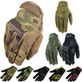 New Original Brand Wear Camo Multicam Tactical Airsoft Military Paintball Shooting Mittens Outdoor Armed Full Finger Gloves