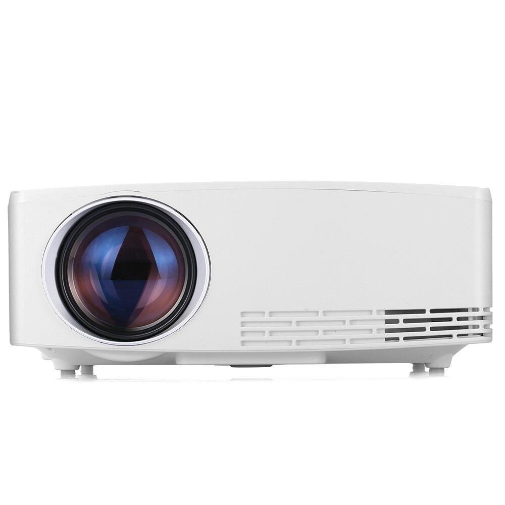Projecteur LCD Portable VIVIBRIGHT C80 Home cinéma 1500 Lumens 1280x720P projecteurs de divertissement pour carte PC Smartphone USB TF