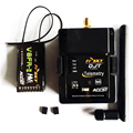 DJT FrSky 2.4 Ghz Combo Pack para JR/Flysky/Turnigy 9XR w/Módulo de Telemetría y V8FR-II RX