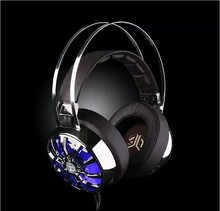 Luxury ZG521 headset 7.1 Surround Sound USB/3.5MM Gaming headset with Mic LED Light shock Headphone for PC phone ipod MP3