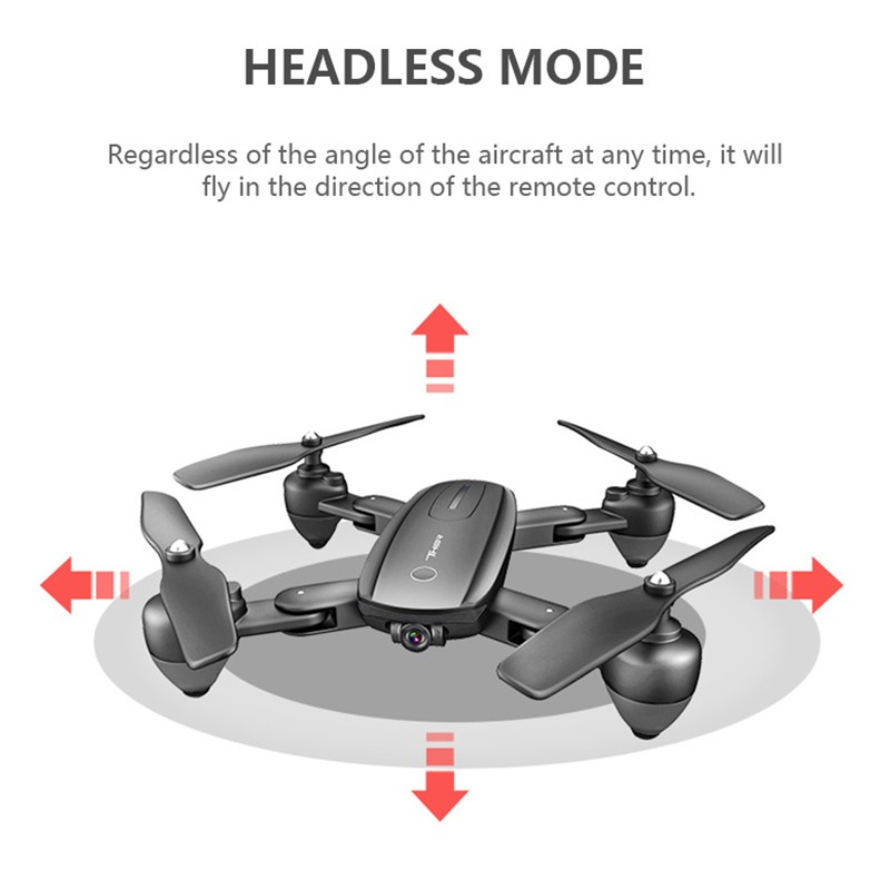 Drone optical flow hover folding fixed high drone HD aerial photography 1080p wifi fpv Quadcopter professional Rc helicopter in RC Helicopters from Toys Hobbies