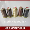 Wholesale 1 Piece hair weaving nylon thread used for weaving hair extension and hair weaving needles hair extension tools