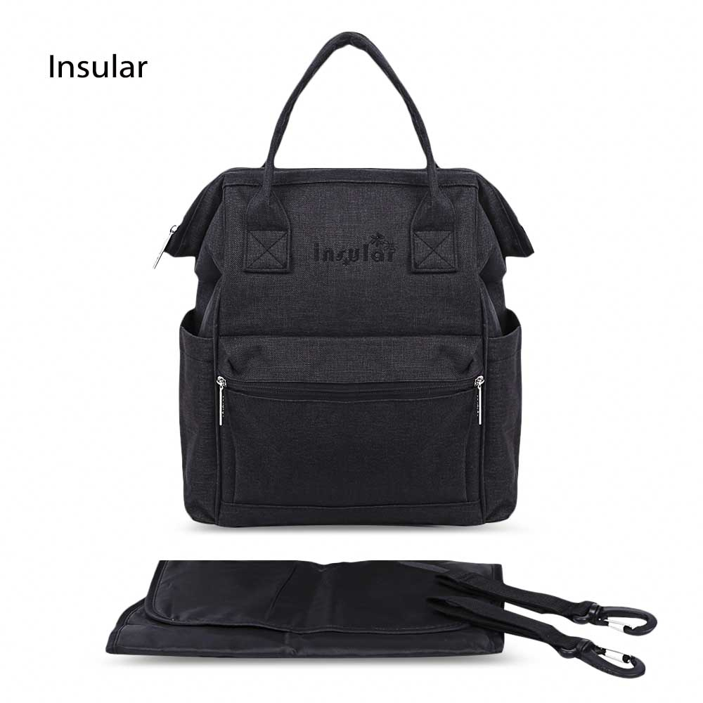 Insular 2017 Fashionable Large Capacity Mummy Backpack Breathable Baby Bag Carriage for Mother Maternity Diaper Strollers