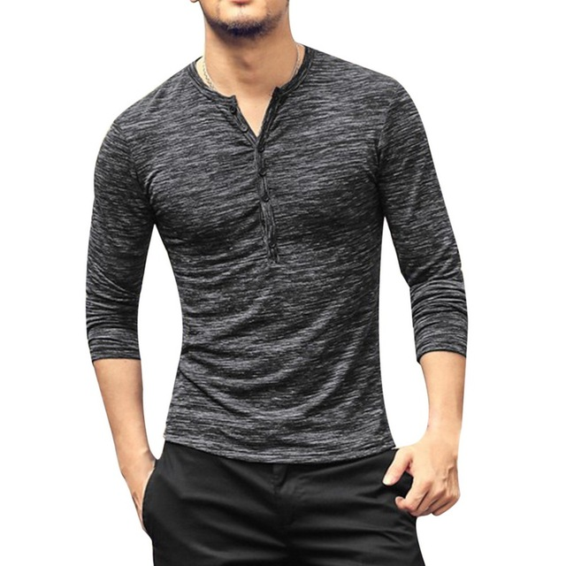 7c3c6632e0d CALOFE Men Running Shirts Male Bamboo Long Sleeve Bottoming T-shirts Male  Slim Fit Spring Autumn Tee Shirts sporting Clothes