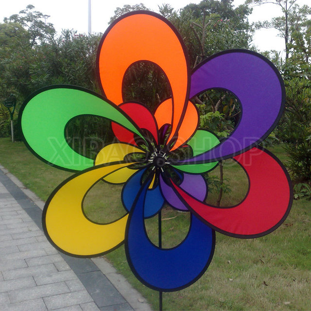 Dutch Windmill Large Outdoor Advertising 1 Meter In Diameter Large  Advertisers Property Windmill Park Terrace Garden