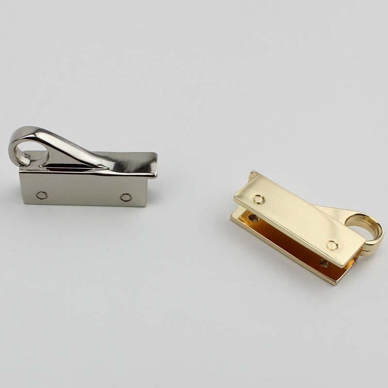 40 pces 34*20mm diy bolsa 2 clipes
