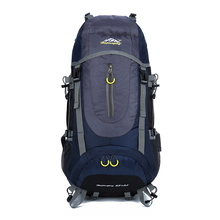 65L Rucksack Hiking Backpacks Mountain Backpack Waterproof Tear resistance Multi-function Camping Vocation Climbing