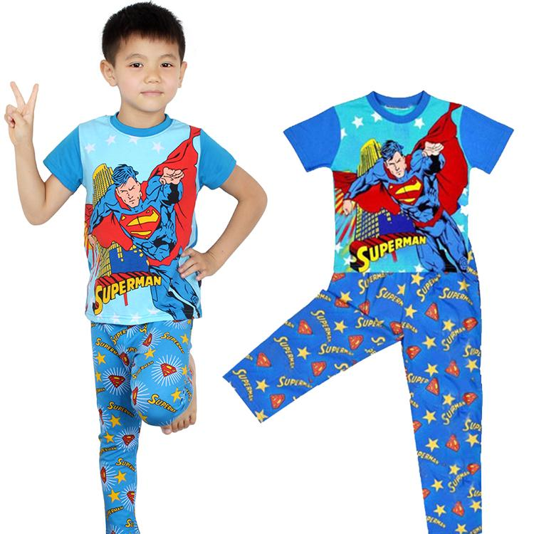 Online Buy Wholesale toddler superman pajamas from China toddler ...