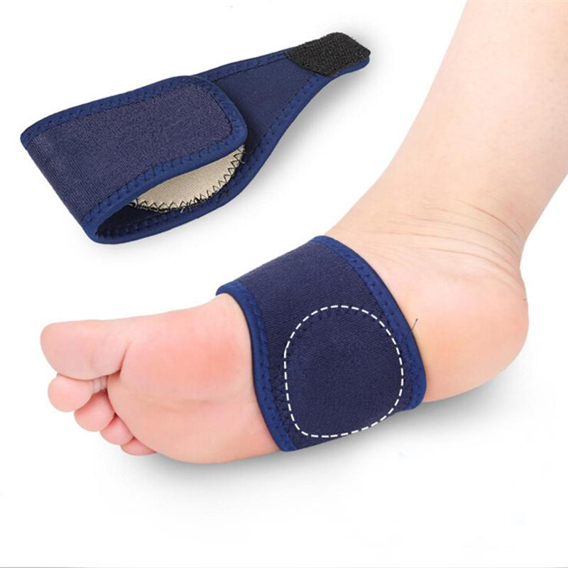 6c0ec93480 A Pair of Bandage Arch Support Flat Feet Arch Support Pads Flatfoot Bandage  Insoles for Heel