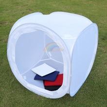 Light Tent Photo Studio Soft Box 50x50x50cm Light Shooting Tent Cube Softbox with 4 Flocked Background High Quality