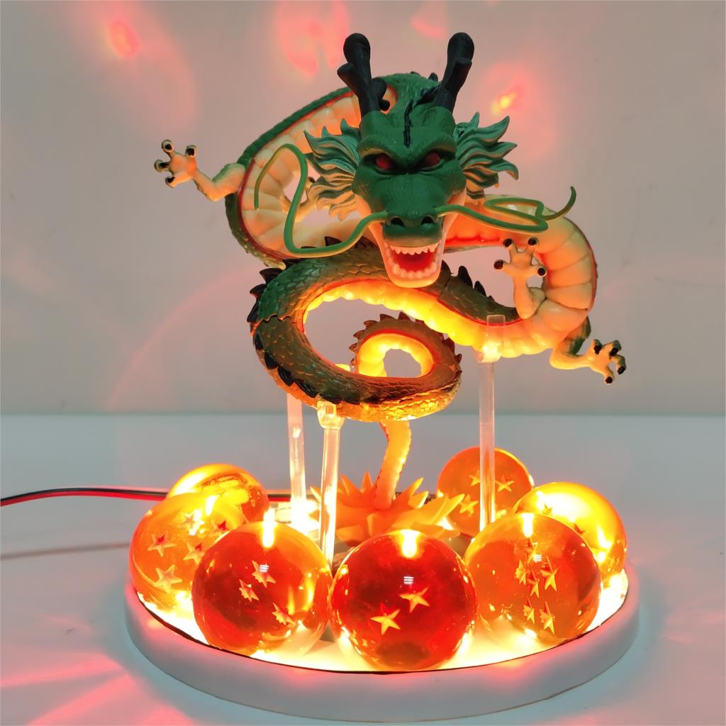<font><b>Dragon</b></font> <font><b>Ball</b></font> Shenron DIY Night Light LED Toys Set Crystal <font><b>Dragon</b></font> <font><b>Ball</b></font> Super Z GT Shenlong Creative Table <font><b>Lamp</b></font> Gift for Kids Model image