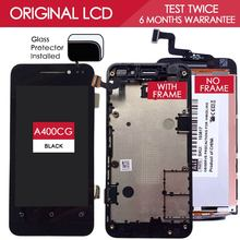 100% Original Brand TFT 854×480 LCD For ASUS Zenfone 4 A400CG Display With Touch Screen With Frame Digitizer Assembly