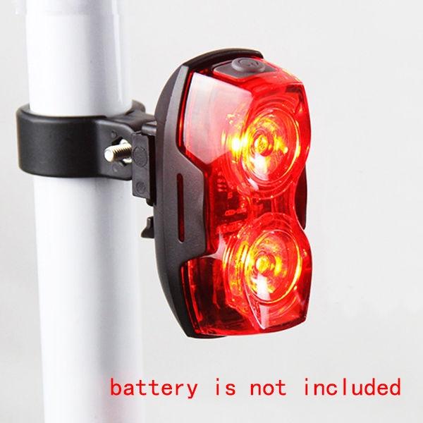 2 φώτα πίσω ποδηλάτου με ποδήλατο LED - Ποδηλασία - Φωτογραφία 2